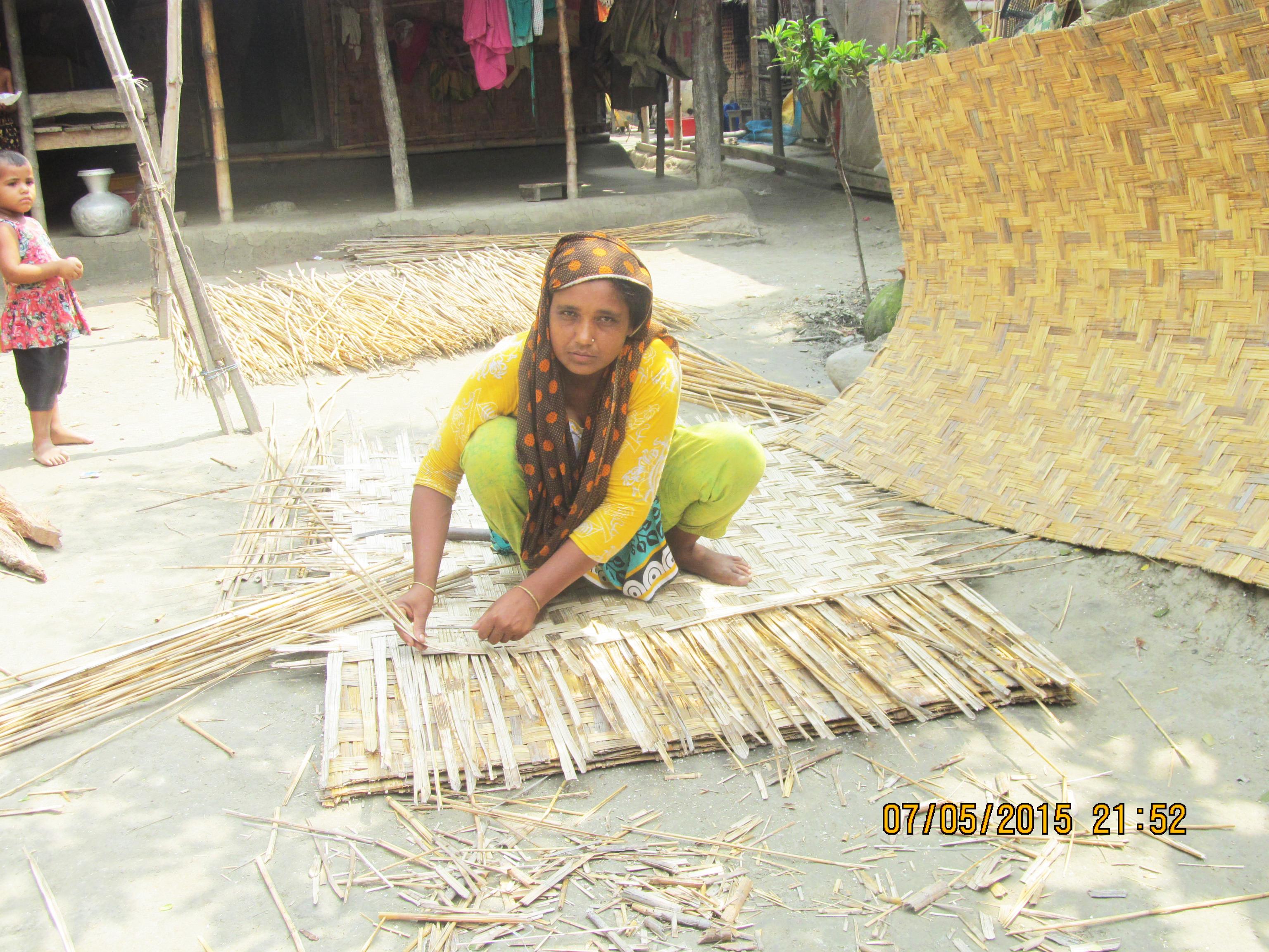 Mat Making  By Hogla, Mahfuza Begum, Nolopara W.S. Dacope, Khulna