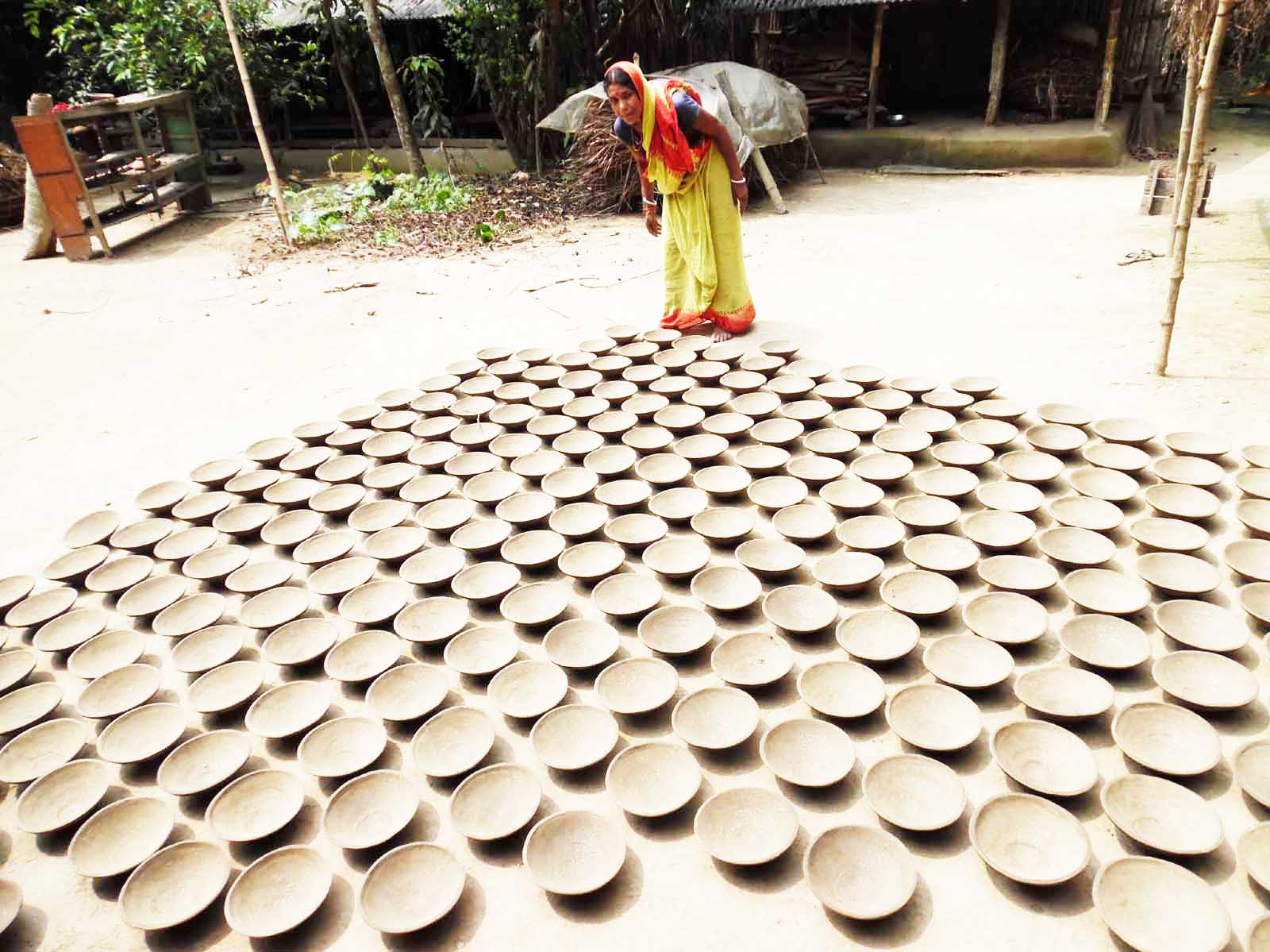 Pottery, Mina Rani Pul, Chalitatala W.S. Narail Sadar, Narail